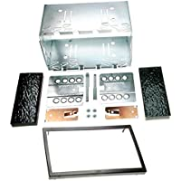 CARAV 14-004 Universal double DIN Autoradio Einbaurahmen Fitting Kit 180 x 103mm