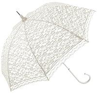 Ladies Lace Umbrella White