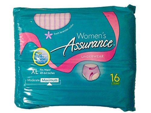 assurance-womens-fresh-lavender-color-xl-16ct-by-assurance