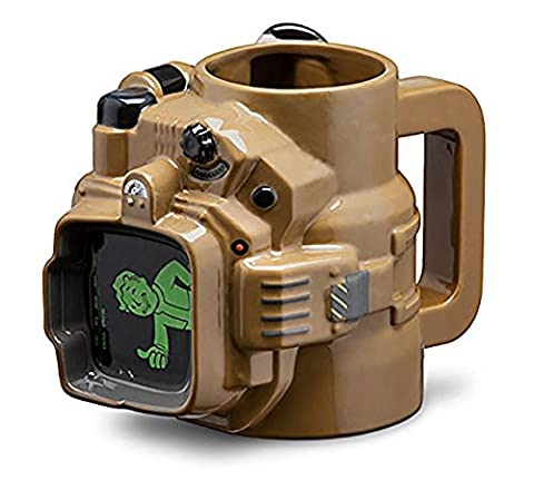 Fallout Pip Boy 48oz Ceramic Molded