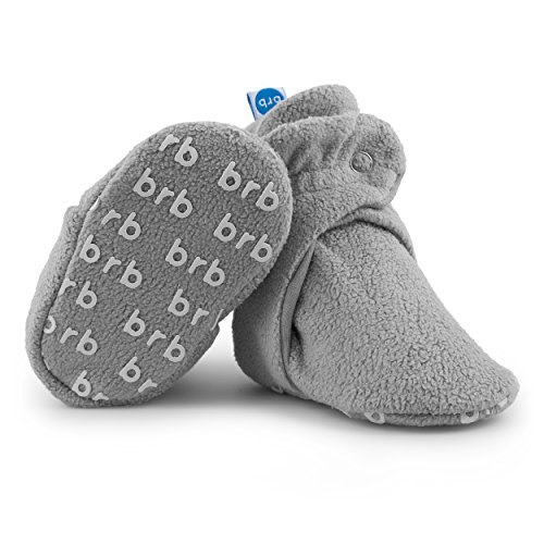 BirdRock Baby Fleece Booties Bio Baumwoll-Futter und Rutschfeste Greifer (US 4, - Koala Für Mädchen Baby-schuhe