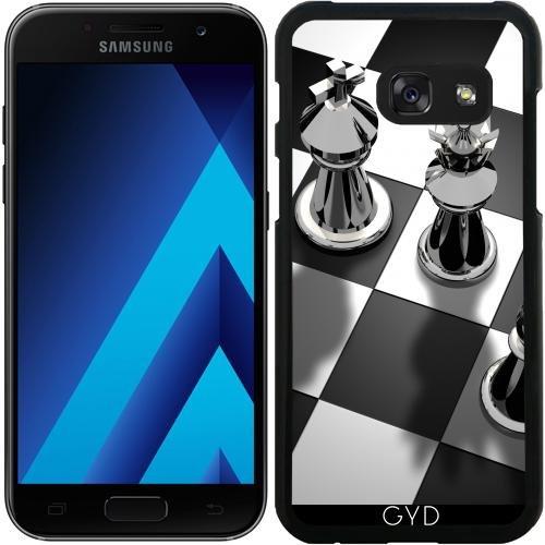 DesignedByIndependentArtists Hülle für Samsung Galaxy A3 2016 2017 (SM-A320) - Schach Spiel König by WonderfulDreamPicture