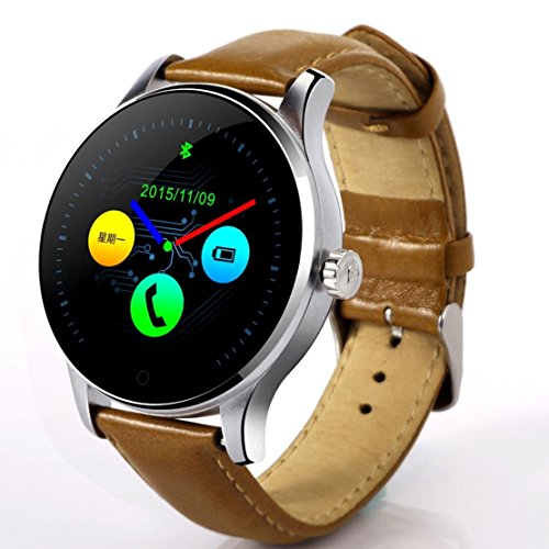 KYDJ Nueva K88H Smart Watch Bluetooth Remote Camera Frecuencia Cardíaca Monitor sueño ver Podómetro Compatible ios y Android teléfono por-3
