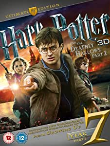 Harry Potter And The Deathly Hallows: Part 2 - Ultimate Edition (Blu-ray 3D + Blu-ray + DVD) [Region Free]