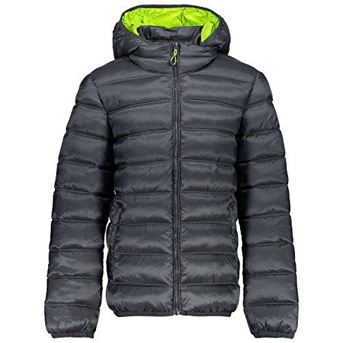 CMP Jungen Daunenjacke Zip Hood Jacket 3Z19174P Antracite-Asphalt 128