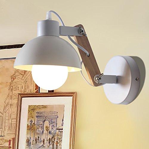 TOTO-Nordic lampe chambre lampe de mur du salon créatif lampe moderne lampe minimaliste mur de l'allée d'araignée en bois mur réglable sconce Arm