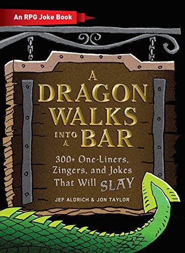 A Dragon Walks Into a Bar: An RPG Joke Book (English Edition)