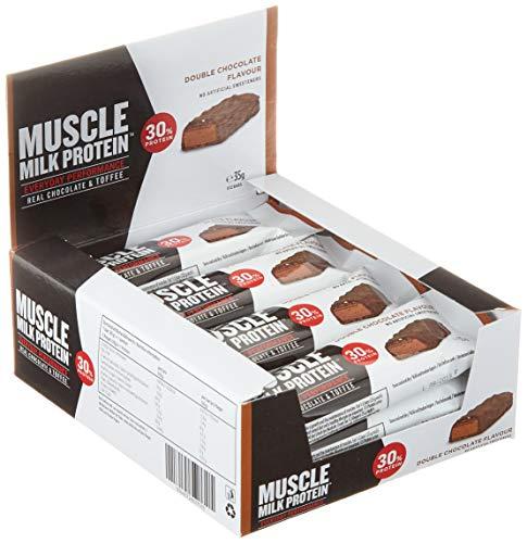 CytoSport Muscle Milk Bar (12x35g) Double Chocolate er Pack( x 420 grams)