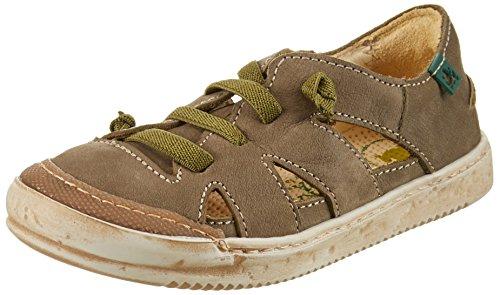 ElNaturalistaKids Unisex-Kinder E377 Sneakers Grün (Kaki)