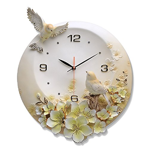 ... XP Wall Clock European Style Uhr Kunst Wand Uhr Wohnzimmer Kreative  Schlafzimmer Persönlichkeit Uhr