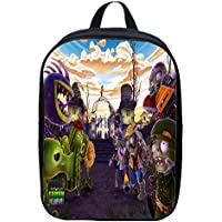 XIAODONG Dibujos Animados Plants Vs Zombies Backpack,E-30 * 22 * 8