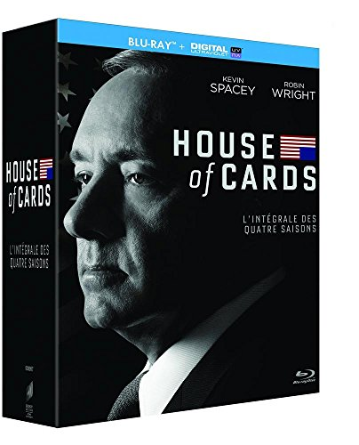 House of Cards - Intégrale saisons 1-2-3-4 [Blu-ray + Copie digitale]