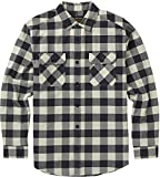Burton Herren Brighton Flannel Hemd, Canvas Heather Buffalo, S