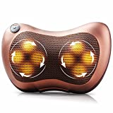 #9: The Virgo Infrared Heating Car Home Body 3D Massage Pillow neck cervical traction Massager Car Seat Cover Relaxation Massage 8 Ball