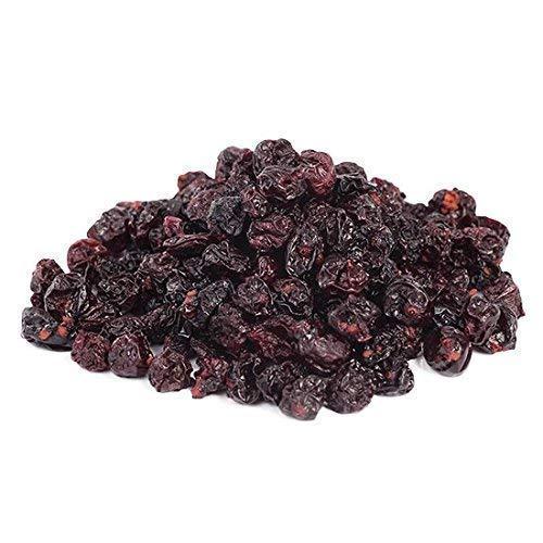 Bio Johannisbeeren schwarz 1 kg Cassis, ungesüßt und ungeölt, 100% Frucht, Rohkost sonnengetrocknet (nicht gefriergetrocknet) Fairtrade 1000g