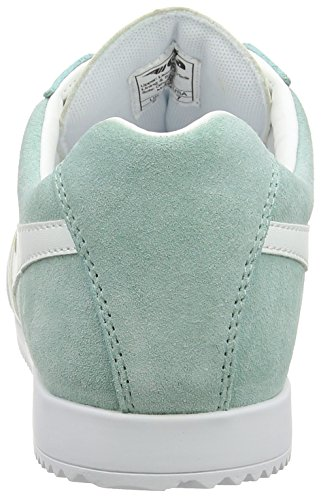 Gola Harrier Suede, Bottes Classiques Femme, Bleu Vert (Pastel Mint/white)