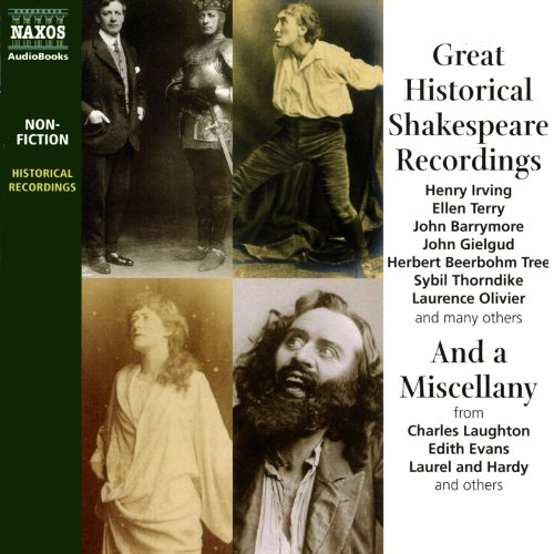 Great Historical Shakespeare Recordings  Audiolibri