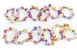 Petite princesse fête Bracelets 12anniversaire surprise Bijoux Prix Couronne et fleur style