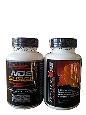 No2 Surge New And Sealed from Testocore Advanced and No2 Surge