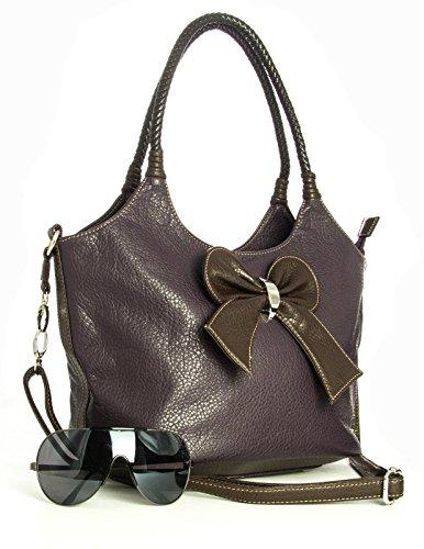 Big Handbag Shop, Borsa a spalla donna One Nero