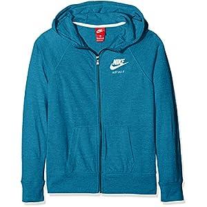 Nike Mädchen G NSW VNTG Hoodie Fz Sweatshirt