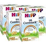 Hipp Pre HA Combiotik, hypoallergénique pour nourrissons - de la naissance, 5-pack (5 x 500g)