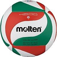 MOLTEN V5M4800 - Balón de voleybol, color blanco, verde y rojo Weiß/Grün/Rot Talla:5