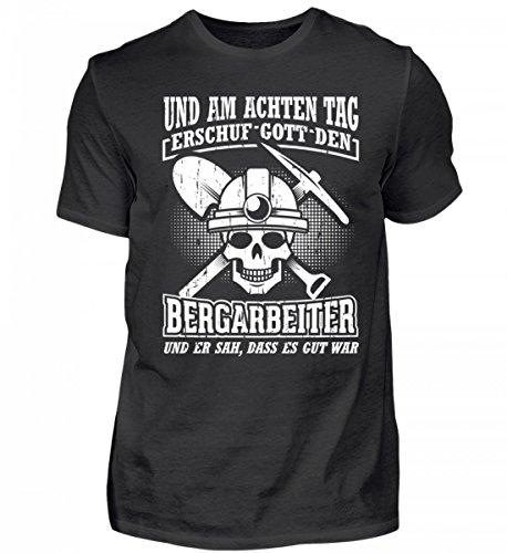 Hochwertiges Herren Shirt - Bergarbeiter und Kumpel Aufgepasst! - Bergmann Tasche