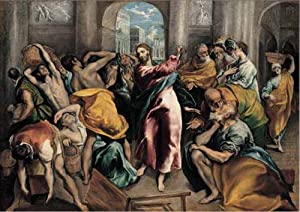 International Publishing 0901N16010b-Christ Driving The Traders from The Temple, clásica Puzzle