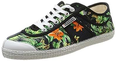 Kawasaki Fantasy Maui, Sneakers Basses Adulte Mixte - Multicolore (maui Black), 36 EU