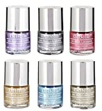 #5: Debelle Chrome Nail Polish Combo offer kit of 6(Chrome wine Chrome Silver,Chrome Glaze,Chrome Gold ,Aqua Frenzy & Rustique Gold )