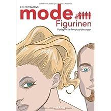Mode-Figurinen Vorlagen für Modezeichnungen