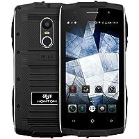 ZOJI Z6 3G Smartphone Ohne Vertrag (Android 6.0, IP68 Wasserdicht Outdoor Handy, 1GB Ram+8GB Rom, Dual-SIM Quad-Core, 4,7 Zoll Touch-Display, Dual Kamera, Fingerabdruck GPS ) - Schwarz