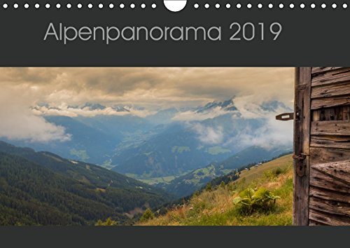 Alpenpanorama 2019 (Wandkalender 2019 DIN A4 quer): Osttirol Impressionen (Monatskalender, 14 Seiten ) (CALVENDO Natur)