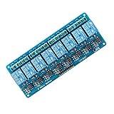 SeeKool 8 Kanal DC 5V Relaismodul Brett 5V Für Arduino UNO R3 MEGA 2560 1280 DSP ARM PIC AVR STM32 Raspberry Pi