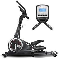 Sportstech Ellipsen Crosstrainer CX640, Smartphone App kompatibel, 24 KG Schwungmasse, Street View, 26 Trainingsprogramme mit HRC-Funktion