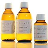 2x Flaschen (je 250ml/10ppm) kolloidales Silber + Flasche (100ml/10ppm) SET