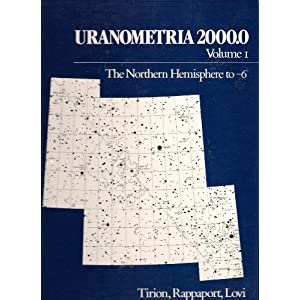 Uranometria 2000: Northern Hemisphere Vol 1