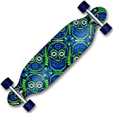 Cruiserboard - Freeride Boards - Skateboard - Longboard mit Motivauswahl (Skull Party)