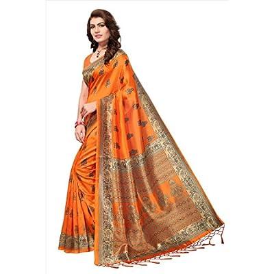 ANNI DESIGNER Silk Saree with Blouse Piece