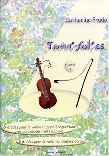 Techni-folies vol. 1 (6 et 5 études) po...
