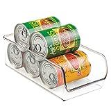 iDesign Linus Aufbewahrungsbehälter, mittelgroßer Küchen Organizer aus bruchsicherem Kunststoff, durchsichtig