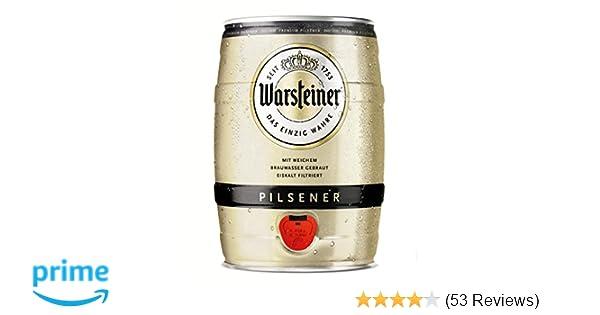 Mini Kühlschrank Warsteiner : Warsteiner premium pilsener liter fass u partyfass mit zapfhahn