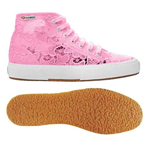 Superga 2795-Macramew, Sneaker, Donna Begonia Pink