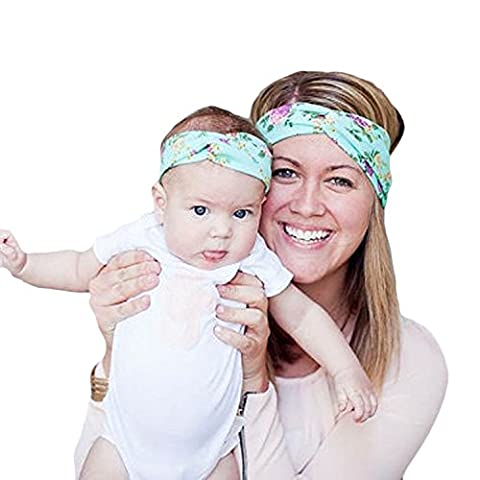 Fashion Mother and Me Headband Infant Toddler Baby Headbands Photo