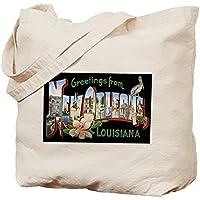 CafePress Design unico New Orleans Louisiana Greetings-Borsa