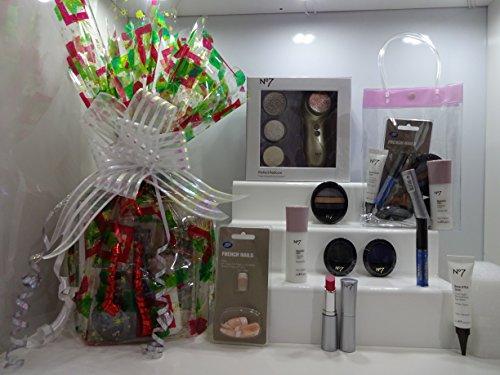 No7 ultime Panier cadeau pour elle ~ Soins de la peau - Make Up - Ensemble de pédicure - Panier cadeau pour elle Cadeau Emballé. 003.