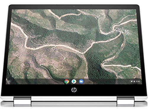 HP Chromebook 12b-ca006TU x360 Thin and Light Touchscreen 12-inch Laptop (4GB/64GB eMMC SSD + 100GB Cloud Storage/Chrome OS/Intel UHD Graphics), Natural Silver Image 5