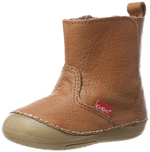 Kickers Baby Boys' Socool Walking Baby Shoes beige Size: 5UK Child