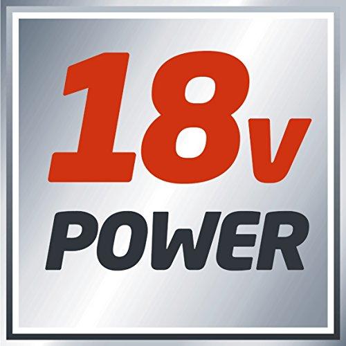 Einhell Akku Stichsäge TE-JS 18 Li Kit Power X-Change (Lithium Ionen, 18 V, max. 80 mm, 4-Stufen Pendelhub, Absaugadapter, LED-Licht, inkl. 1 x 2,0 Ah Akku und Ladegerät) - 6